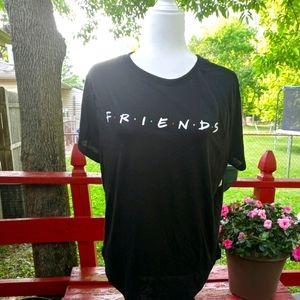 NWTFriends the TV Show brand Womens Tshirt